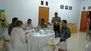 Walikota Tomohon Rayakan Idul Fitri di kediaman Kapolres Tomohon