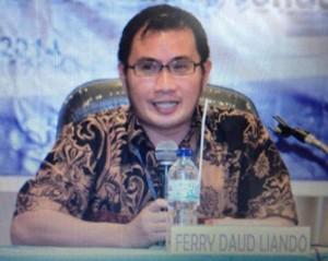 Dr Ferry Liando SIP MSi, Ferry Liando