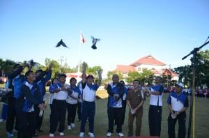 HUT Provinsi Sulut , Gubernur, Sulawesi Utara , DR. Sinyo Harry Sarundajang,