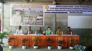Bupati Minsel, Pengembangan Petani Muda, Wirausaha , Taman Teknologi Pertanian ,  Minahasa Selatan