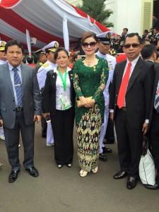Bupati Minahasa Selatan , Christiany Eugenia Paruntu, detik Proklamasi ,  Istana Negara