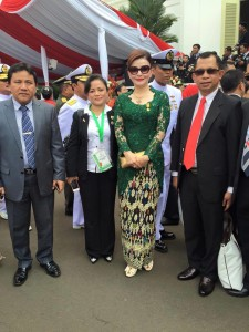 Bupati Minsel Ikuti Upacara Detik-detik Proklamasi di Istana Negara