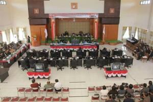 DPRD Tomohon Gelar Rapat Paripurna Istimewa Dengarkan Pidato Presiden