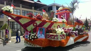Minahasa Tenggara, Tournament of Flower , ToF, TIFF 2015