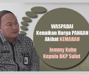 jemmy kuhu, Kepala BKP Sulut, musim kemarau