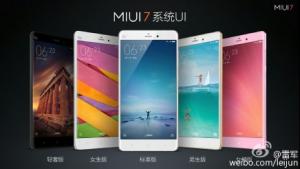 MIUI 7, update MIUI 7, Xiaomi ,