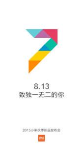 MIUI 7 , Xiaomi