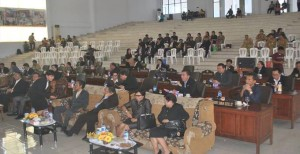 Paripurna istimewa DPRD Minsel mendengar pidato kenegaraan dalam rangka HUT Proklamasi RI ke 70