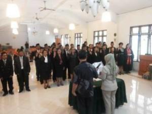 Pelantikan Panwascam Kabupaten Minahasa Tenggara
