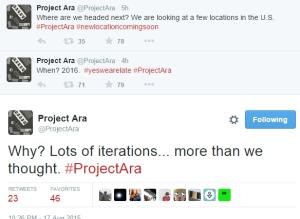 Google Project Ara ,  Spiral 2, smartphone modular
