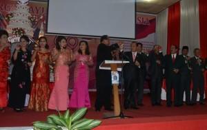 Resepsi kenegaraan alam rangka HUT Proklamasi ke 70 dipimpin Walikota Bitung Hanny Sondakh