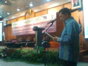 SHS Jadi 'Keynote Speaker' dan Luncurkan Buku di Kongres ke-IX AIPI