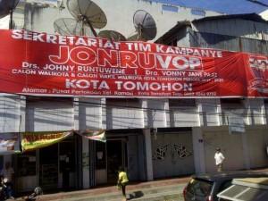 Tim Kampanye, Jonru-Vop, pilkada tomohon, pilkada 2015,