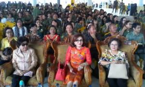 Syukuran HUT RI ke-70 dan Penghargaan Bupati Minsel Dirayakan Sederhana