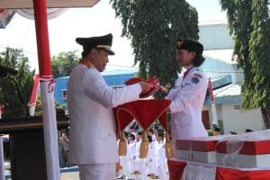 detik Proklamasi, Kemerdekaan RI,Wakil Walikota Bitung, Max.J Lomban