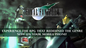 Square Enix, Final Fantasy VII , iPhone ,iPad, apple