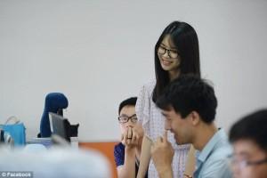 Perusahaan teknologi ,Cina , gadis cantik, berita aneh, unik