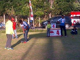 Harimau Gateball Parigi, TIFFGOT 2015, Tomohon