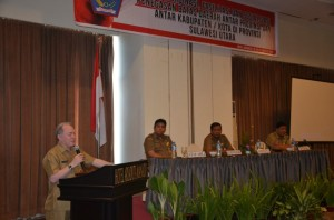 Drs. Jhon Palandung, Asisten I bidang Pemerintahan, Batas Wilayah, Sulawesi Utara