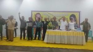 Andy R Sengkey SE memaparan keberhasilan-keberhasilan Eman