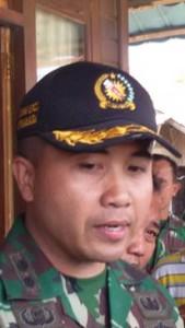Dandim Minahasa, Letkol Andhy Kusuma, Gunung Lokon , tambang lokon