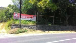 KPU Tomohon,  Alat Peraga Kampanye,  Stenly Kowaas SP , pilkada 2015, pilkada tomohon