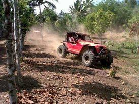 Bupati ,Minahasa Tenggara , James Sumendap SH, Offroad