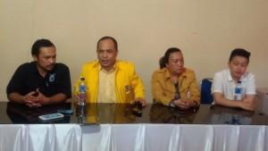 Jepol-Chermat kembali ditolak KPU Tomohon karena tak kantongi SK ARB