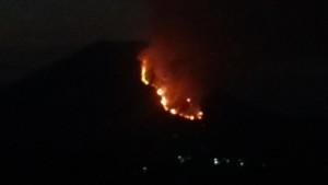 Gunung Lokon, kebakaran hutan, Bukit Inspirasi Tomohon