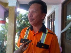 BPBD Tomohon, Kebakaran , Drs Robby J Kalangi SH MM