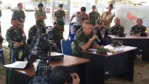 Gunung lokon, Pangdam VII Wirabuana, Mayjen TNI Bachtiar SIP MSi ,