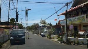 Dinas Tarunmansa,  Drs ODS Mandagi, Lampu Jalan