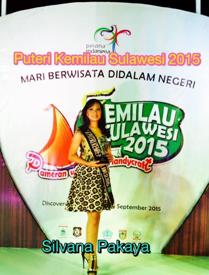 Silvana Pakaya, Putri Kemilau Sulawesi 2015