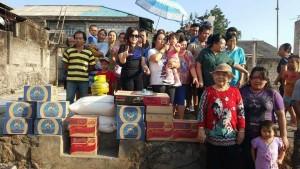 SAS Salurkan Bantuan ke Korban Bencana Kebakaran di Kinilow