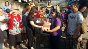 SAS Bantu korban kebakaran di Kinilow Tomohon Utara