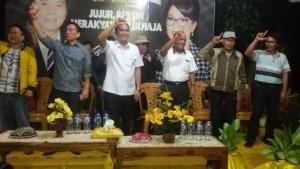 Woloan Raya, EMAS,  Jimmy F Eman SE Ak,Syerly Adelyn Sompotan, calon Walikota, pilkada tomohon, pilkada 2015,