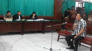 Walikota Tomohon Jimmy F Eman SE Ak bersaksi di Pengadilan Tipikor
