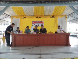 Suasana pemilihan pengurus FPM