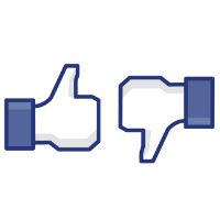 Facebook, Mark Zuckerberg, Dislike