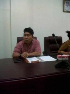 Ketua Panitia Offroad Royke Pelleng