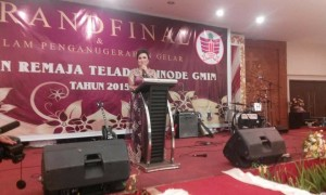 Syerly Adelyn Sompotan, Ketua Panitia Remaja Teladan GMIM 2015