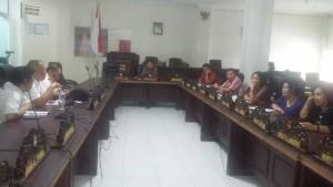 pemadam listrik, PLN Ratahan, DPRD Minahasa Tenggara