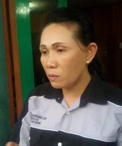 Rita Kambong SH, Ketua Panwaslu Kota TomohonRita Kambong SH, Ketua Panwaslu Kota Tomohon