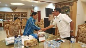 Ir. Siswa Rahmat Mokodongan,  PT. PLN Suluttenggo, Baringin Nababan,