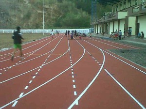 Stadion DR. S.H. Sarundajang ,  Sendangan Selatan, Kecamatan Kawangkoan