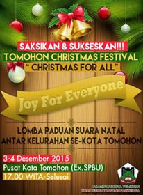 Christmas for All, Tomohon, Maryam Rau SH