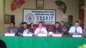 Unsrit , Universitas Sariputera Indonesia Tomohon, Dr Jost Rumampuk SE MS