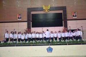 Sumarsono Launching Festival Seni Budaya Revolusi Mental Provinsi Sulut