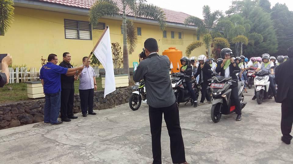 Konvoi Gerakan Damai Anti Narkoba GANK-OSIS SMK Kristen II Tomohon