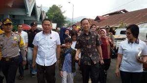 Menteri Perdagangan, Thomas Lembong, Pasar Beriman Tomohon